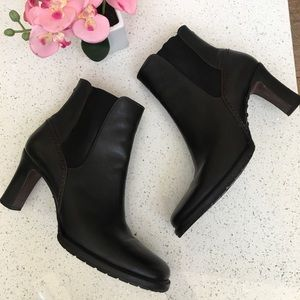 Cole Haan Vibram High Heel black boots 9B